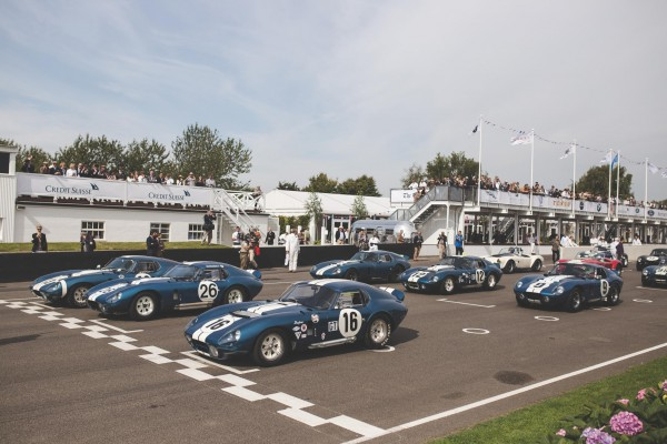 Concours-All-original Shelby Daytona Coupes- 2015's Goodwood Revival.